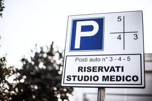 Posti auto riservati